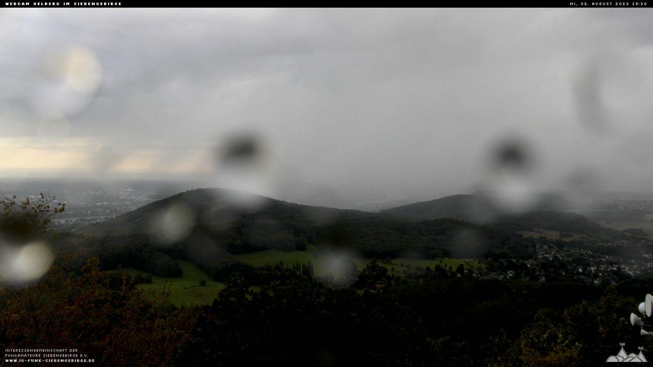 Webcam auf dem Großen Oelberg im Siebengebirge